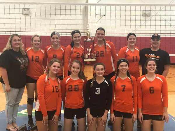 Congratulations WHS Volleyballl Team- CHAMPIONS of the Ludlow Classic Volleyball Tournament.