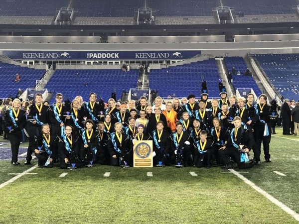 Williamstown Band of Spirit at KMEA State Marching Band Championship