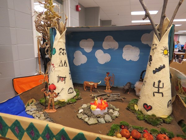 5th Grade Native American Project