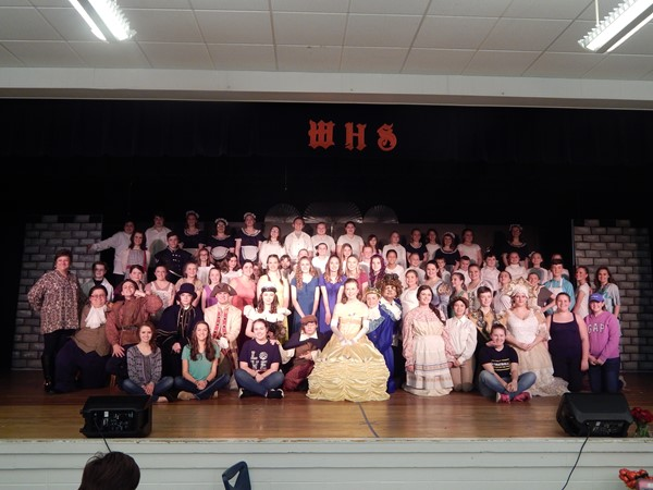 Cast and crew of Beauty & The Beast, JR