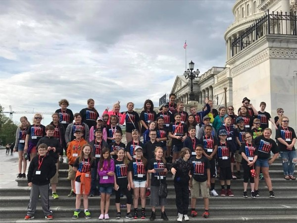 5th graders visited Washington, D.C.