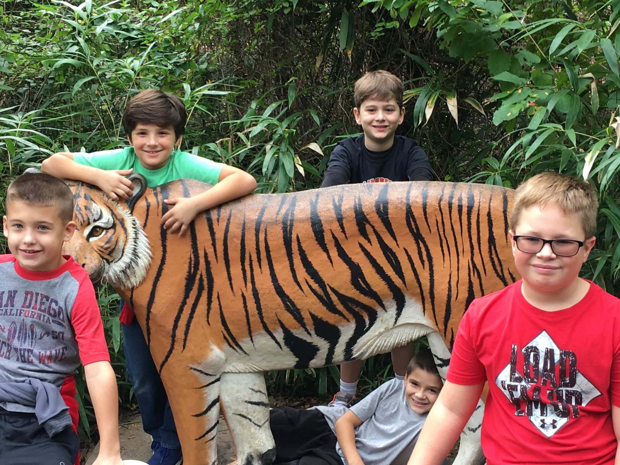 4th grade zoo field trip