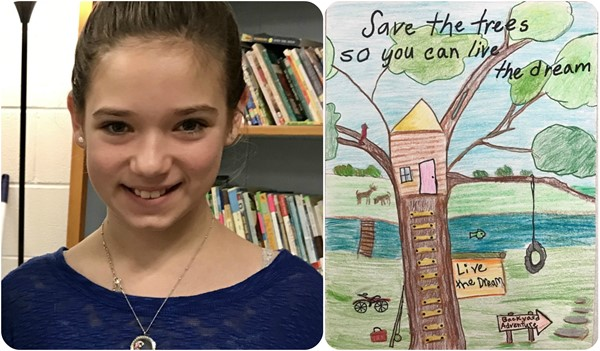2016 Grant Co Conservation District Poster Contest winner.