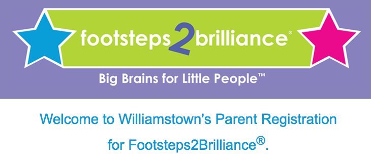 Footsteps 2 Brilliance Registration