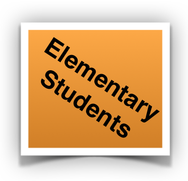 elementary student button