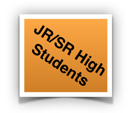 JR/SR High student button