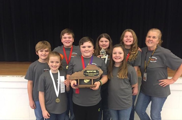 2017 WES Academic Team, District Governor's Cup Champions